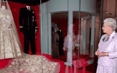 Queen Elizabeth Wore Damask Brocade